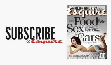 FREE Esquire Magazine Subscription!