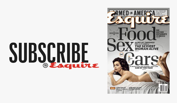 FREE Esquire Magazine Subscription