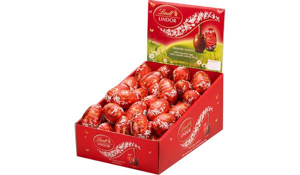 FREE Lindt Lindor Milk Chocolate Egg at Kroger & Affiliates (US)