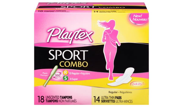 FREE Playtex Sport Pads, Liners and Combo Packs (US)