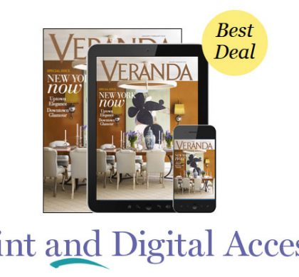FREE Veranda Magazine Subscription!