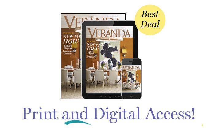 FREE Veranda Magazine Subscription!