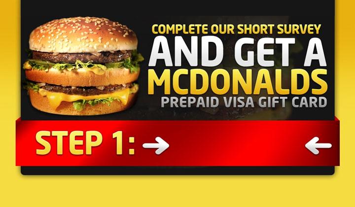 Get a McDonalds Gift Card