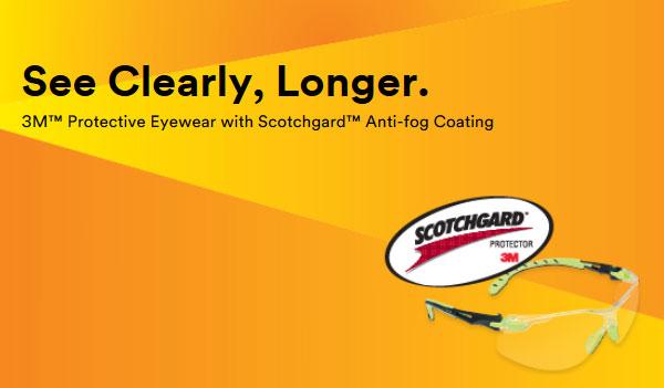 FREE 3M Anti-Fog Safety Glasses