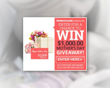 Mother's Day Giveaway! – One Field (US only)