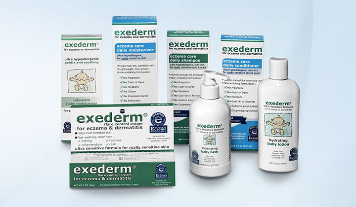 FREE Exederm Skin Care Samples (US Only)