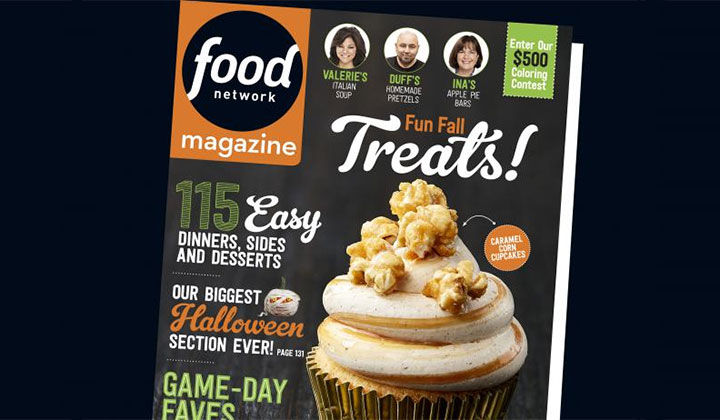 FREE Food Network Magazine Subscription (US Only)