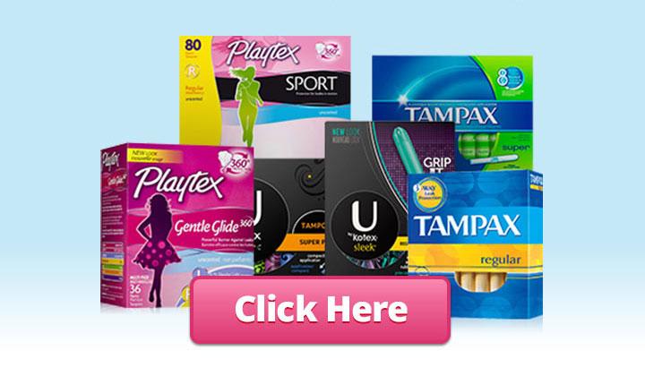 FREE Tampon Samples