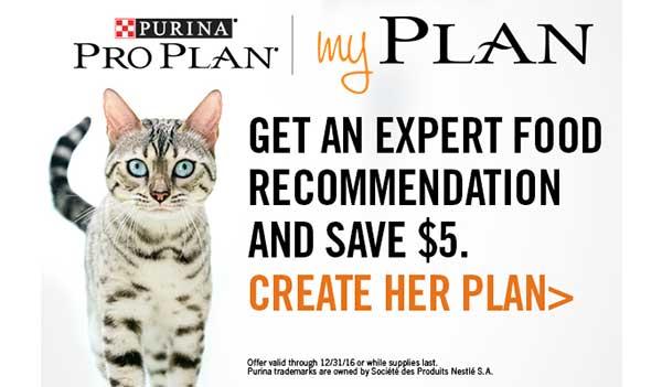Purina Cat Plan – $5.00 OFF Coupon! (US)