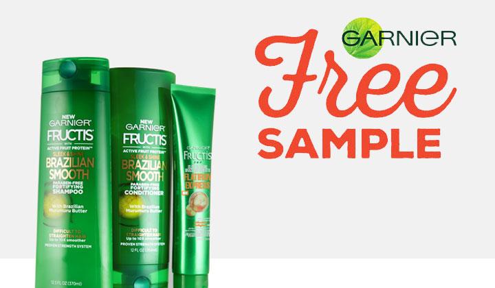 Garnier Fructis Brazilian Smooth Haircare Sample (US only)