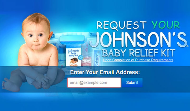 Johnson's Baby Relief Kit (US only)