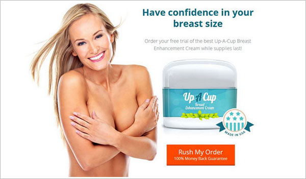 Up-A-Cup – Natural Breast Enhancement (US, UK, CA, IE only)