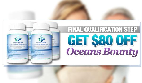 Ocean's Bounty Blood Sugar – Get $80 Off (US only)