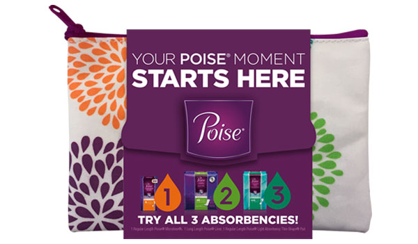 FREE Poise Pads Samples (US)