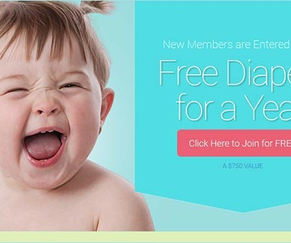 Everyday Family – Win Free Diapers For a Year (US only)