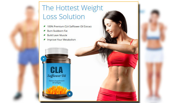 CLA Safflower Oil Fat Burner – 30% OFF (US, CA, UK, IE)