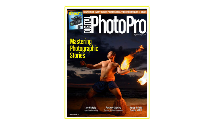 FREE Digital Photo Pro Magazine Subscription (US only)