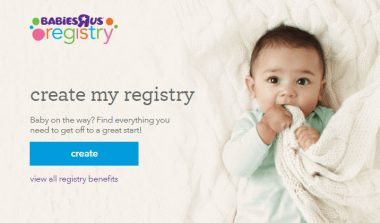 FREE Baby Product Samples from Toys R US Baby Registry