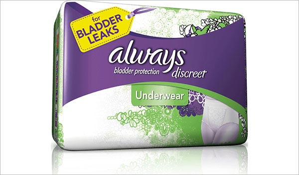FREE Always Discreet Incontinence Samples (US, UK, CA & FR)