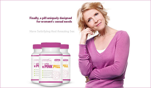 Little Pink Pill – Female Libido Booster (US, UK, CAN & IE only)