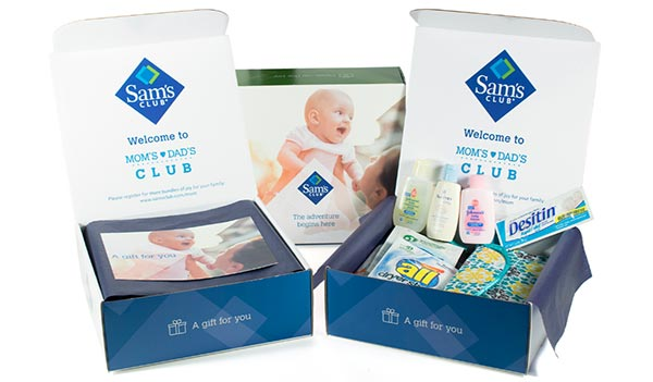 FREE Baby Sample Box and Coupons From Sam's Club (US)