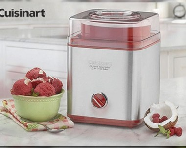 Cuisinart Ice Cream Maker Giveaway (US only)