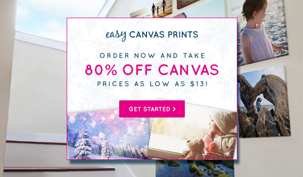 Choose your favorite photos and turn them into canvas prints, large formatposters.