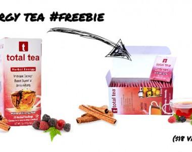 FREE Total Tea Energy Tea (US only)