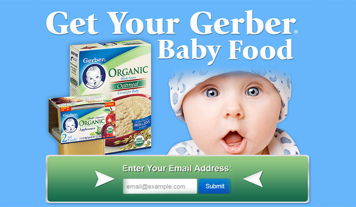 Gerber Baby Food Coupon: Free Baby Food Samples (US Only)