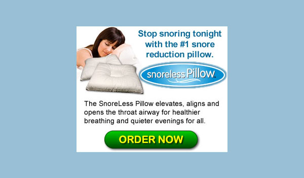 Snoreless Pillow (Worldwide)