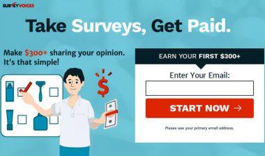 Survey Voices: Free Paid Surveys Online