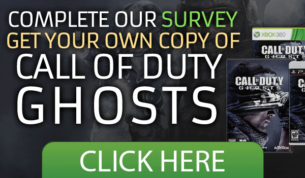 Call of Duty: Ghosts – Email Submit (US only)
