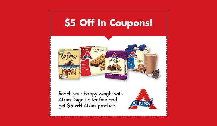 FREE Atkins Quick-Start Kit (US Only)