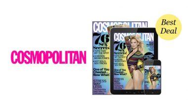 FREE Cosmopolitan Magazine Subscription!