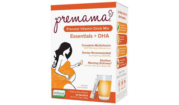 FREE Prenatal Vitamins Samples at Premama (US & CA)