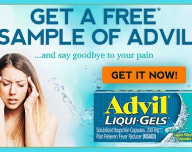 FREE Advil Samples (US)