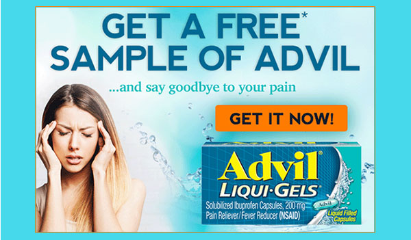 FREE Advil Samples (US)