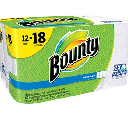FREE Bounty Paper Towels