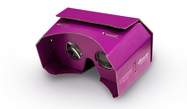 FREE Cardboard Viewer From ENTYVIO (US)