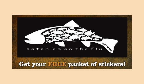 FREE Orvis Fish Sticker (US)