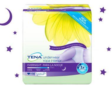 FREE TENA Overnight Underwear Sample