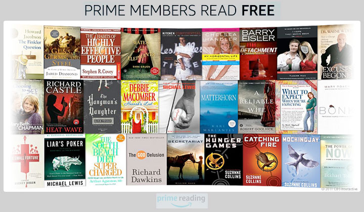 FREE eBooks and Magazines for Amazon Prime Members (US Only)