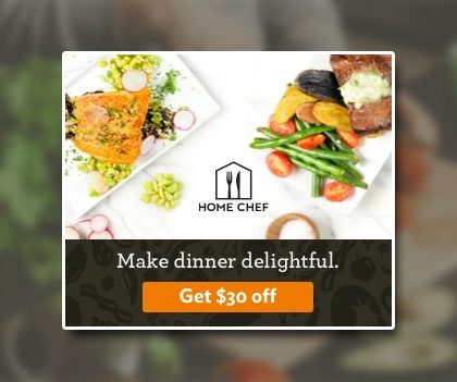 Home Chef Coupon Code – $30 OFF (US)