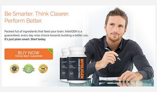 Inteligen Brain Supplement (US, UK, CA & IE)