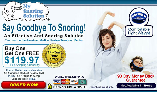 My Snoring Solutions (All Countries)