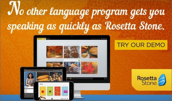 Rosetta stone deals / The best discount codes