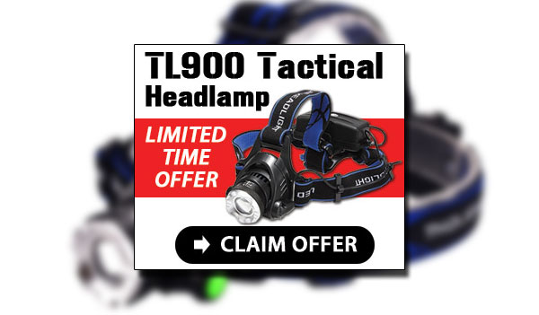 TL900 LED Headlamp Coupon – 75% OFF (US)