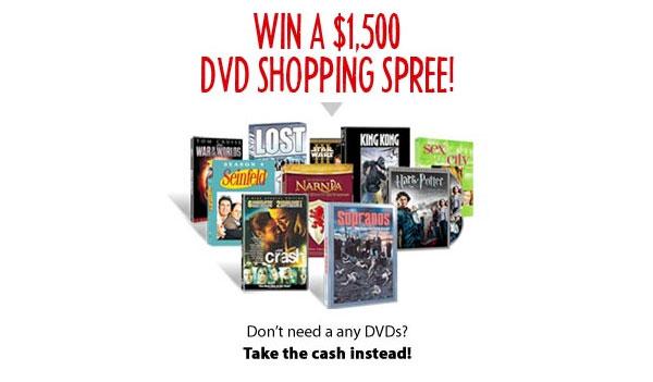 Winning Surveys – Win A $1500 DVD Shopping Spree! (US)
