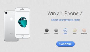 Win an iPhone 7