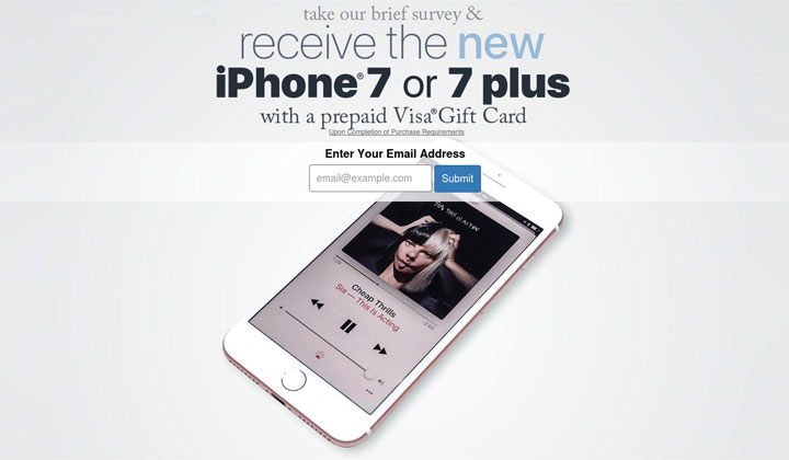 iPhone 7 – One Field